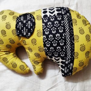 Handcrafted Elephant soft toy