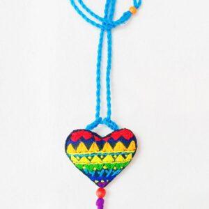 Multi color PRIDE necklace