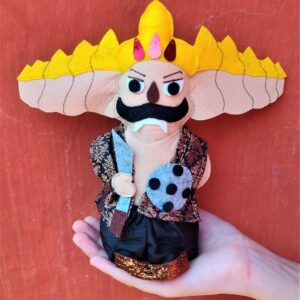 Ravana Rakshasa King Soft toy in hand